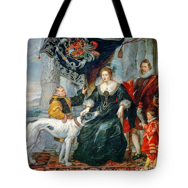 Portrait Of Lady Arundel With Her Train Tote Bag