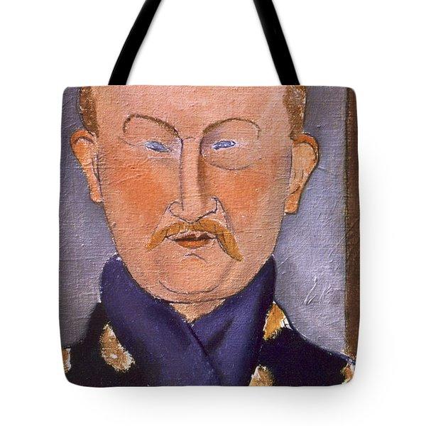 Portrait Of Leon Bakst Tote Bag