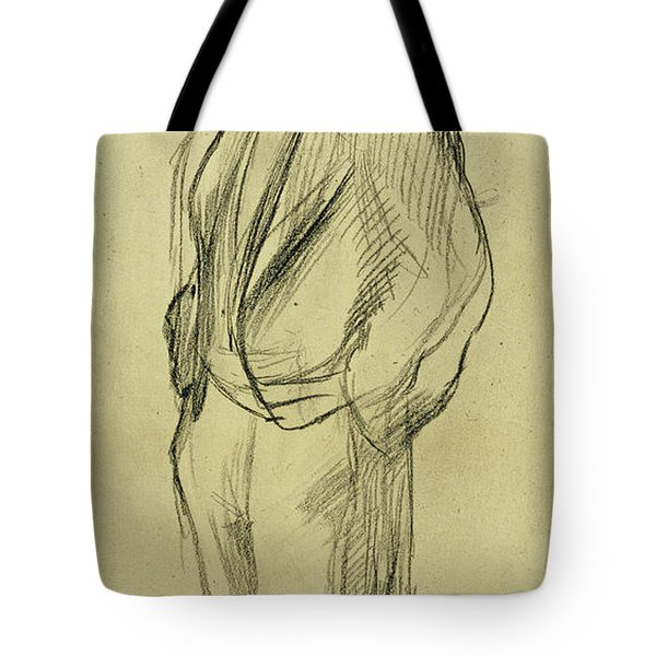 Portrait Of Ludovic Halevy Tote Bag by Edgar Degas