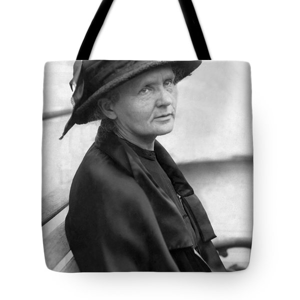 Portrait Of Marie Curie Tote Bag