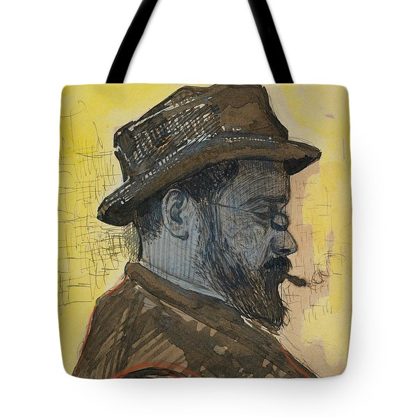 Portrait Of Maximilien Luce Tote Bag by Paul Signac