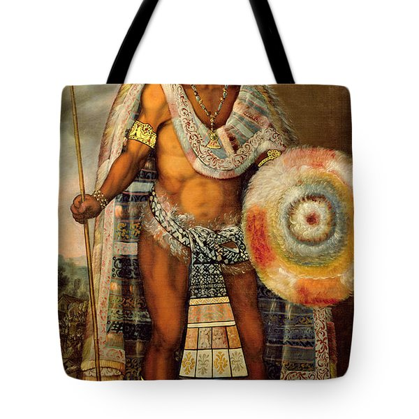 Portrait Of Montezuma II Tote Bag