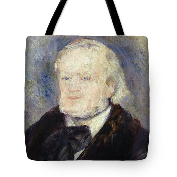 Portrait Of Richard Wagner Tote Bag