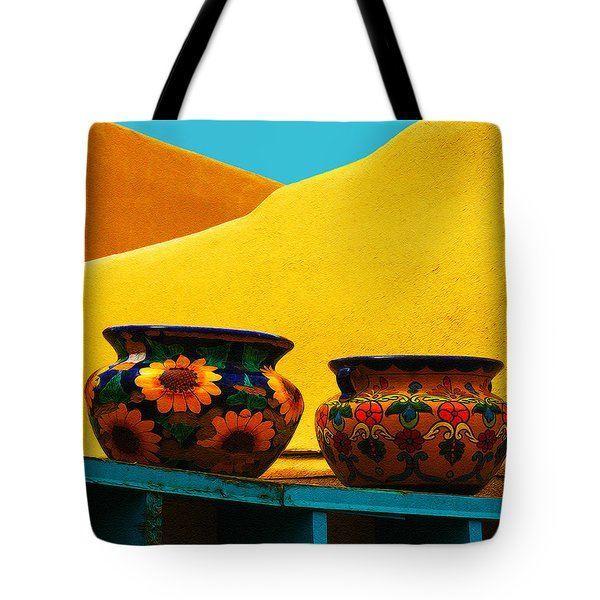 Portrait Of Taos Tote Bag
