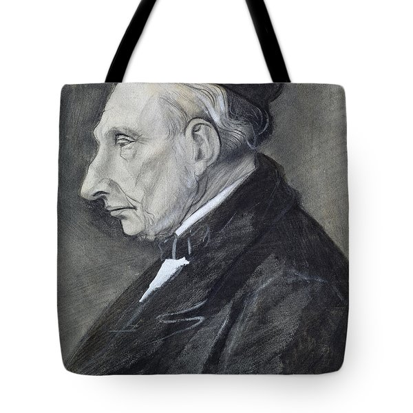 Portrait Of The Artists Grandfather Tote Bag by Vincent Van Gogh