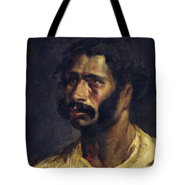 Portrait Of The Carpenter Of The Medusa, C.1812 Oil On Canvas Tote Bag