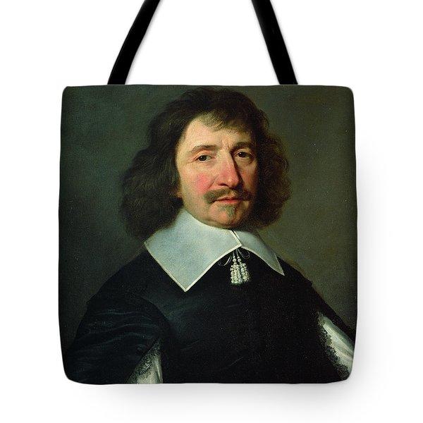 Portrait Of Vincent Voiture 1597-1648 C.1643-44 Oil On Canvas Tote Bag