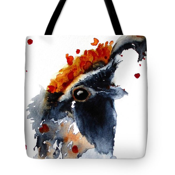 Portrait Posing Tote Bag