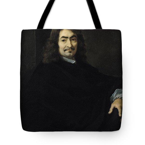 Portrait Presumed To Be Rene Descartes Tote Bag