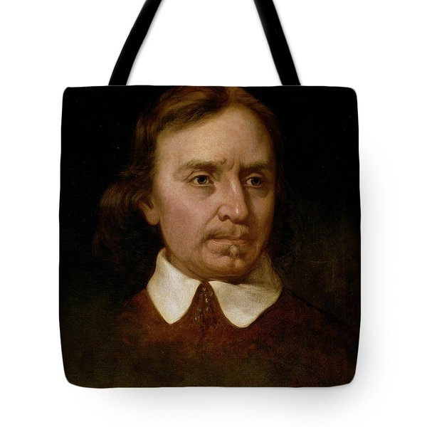 Portrait Study Of Oliver Cromwell Tote Bag