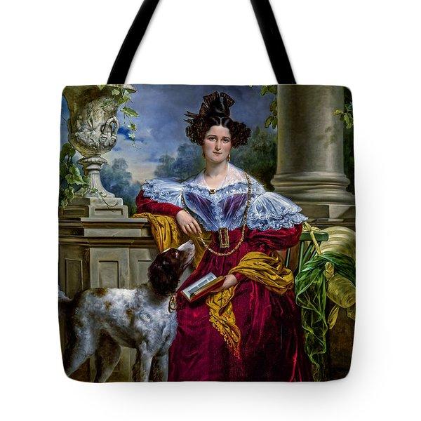 Portret Van Alida Christina Assink 1833 Tote Bag