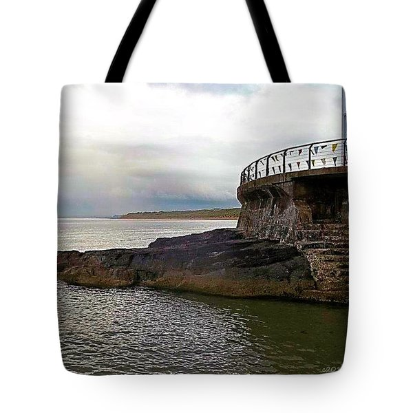 Portrush Northern Ireland Tote Bag by Tara Potts