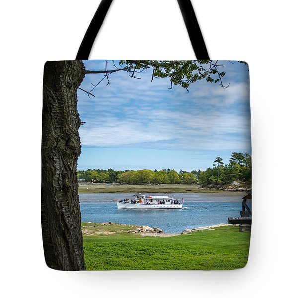 Portsmouth Harbor Cruises - Heritage Tote Bag
