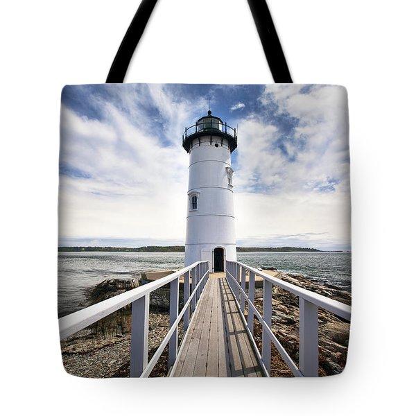 Portsmouth Harbor Lighthouse Tote Bag