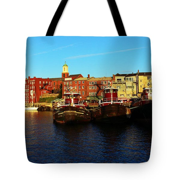 Portsmouth In The Afternoon Tote Bag