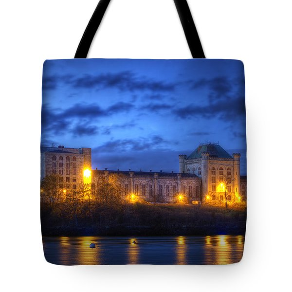 Portsmouth Naval Prison Tote Bag by Eric Gendron