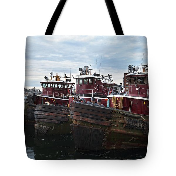 Portsmouth Tugs Tote Bag
