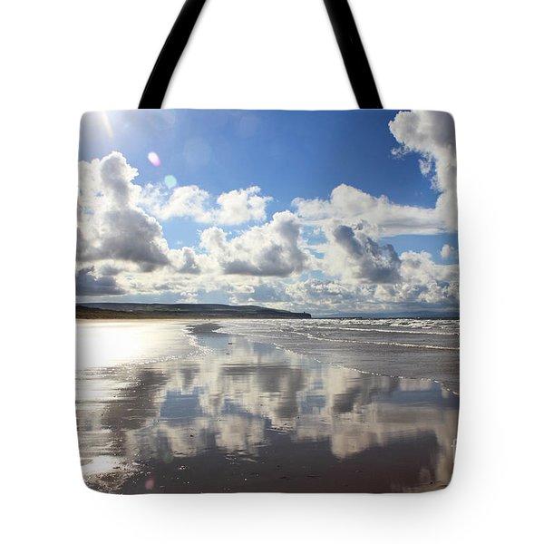 Portstewart Strand 4 Tote Bag