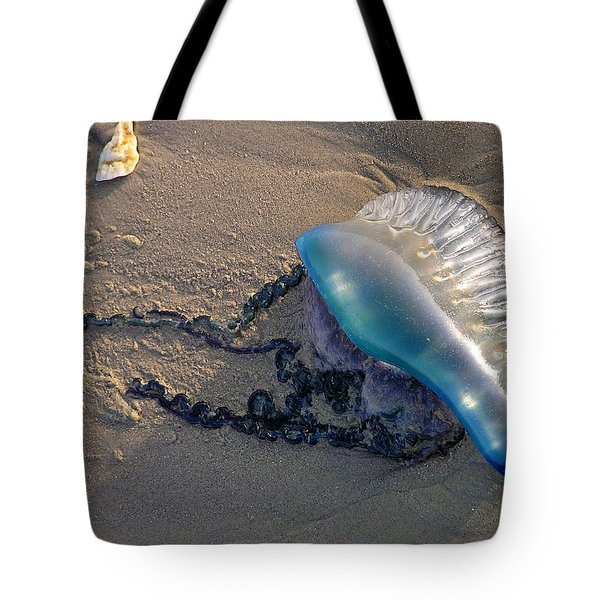 Portuguese Man O' War Tote Bag