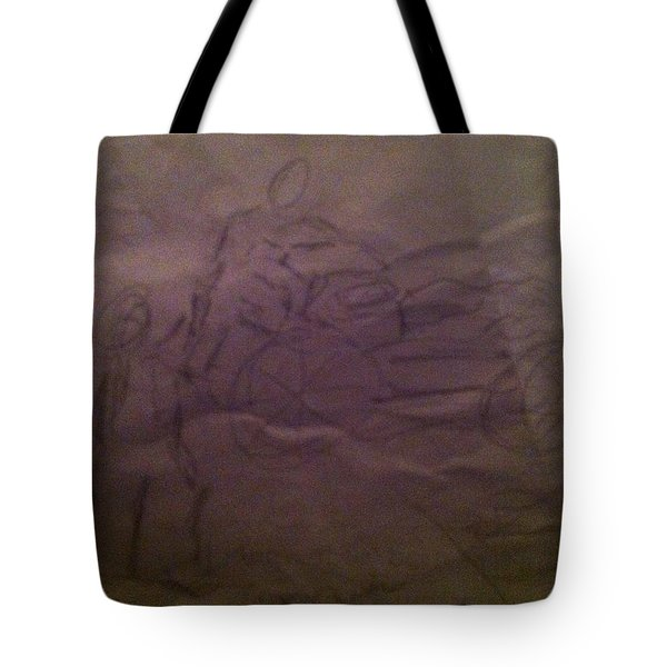 Pose1 Tote Bag by Mary Ellen Anderson