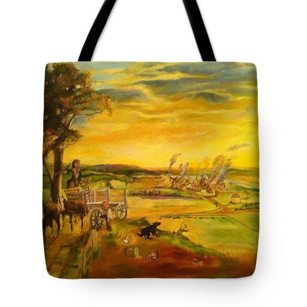 Pose2 Tote Bag by Mary Ellen Anderson