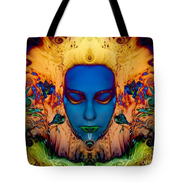 Poseidons Maiden Tote Bag by Heather King