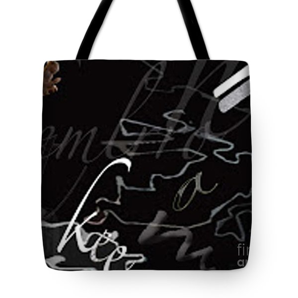 Positive And Negative Space Tote Bag