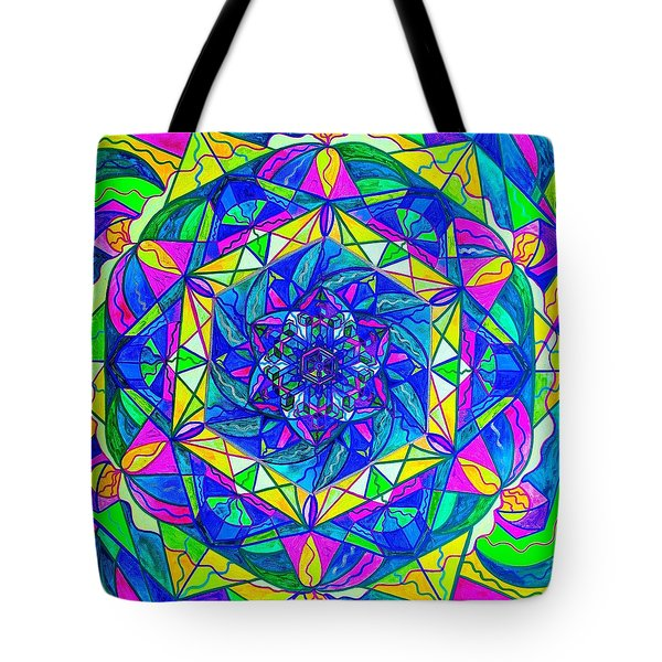 Positive Focus Tote Bag