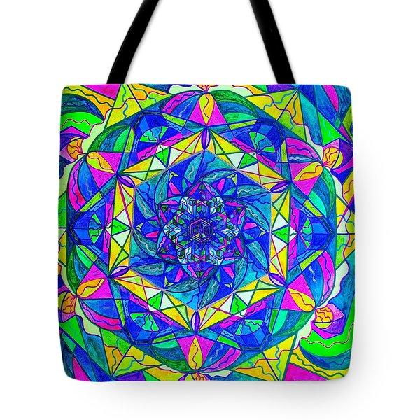 Positive Focus Tote Bag