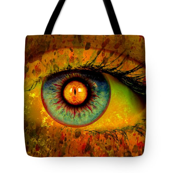 Possessed Tote Bag by Ally  White