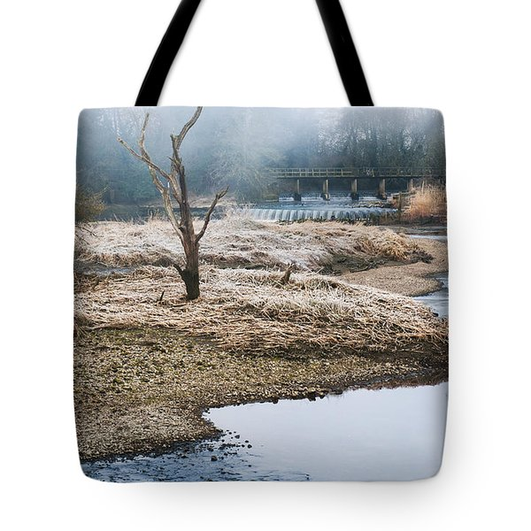Tote Bag featuring the photograph Post Apocalyptic Landscape by Trevor Chriss