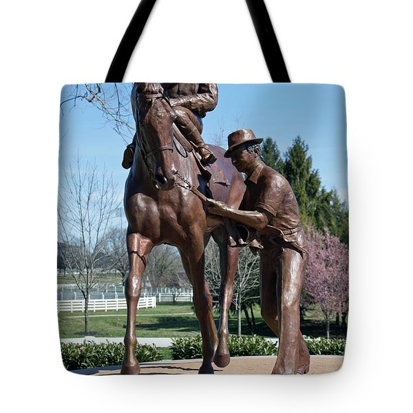 Post Time Tote Bag by Roger Potts