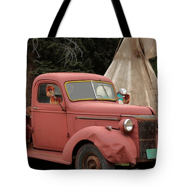 Tote Bag featuring the photograph Postcard From Yesterday by Lynn Sprowl