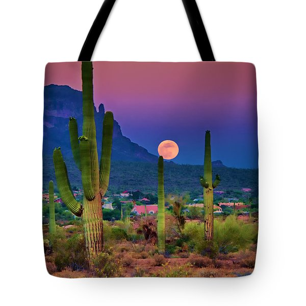 Postcard Perfect Arizona Tote Bag