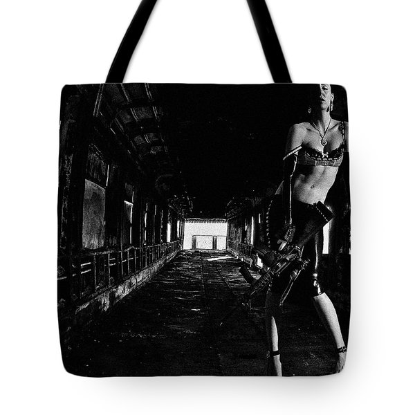 Posted Exacerbation Tote Bag by Cecil K Brissette