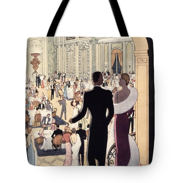 Poster Advertising The Rex Tote Bag by Italian School