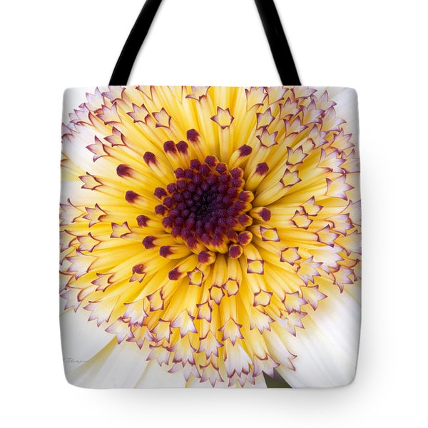 Tote Bag featuring the photograph Pot Marigold Citrus Smoothies by Richard J Thompson