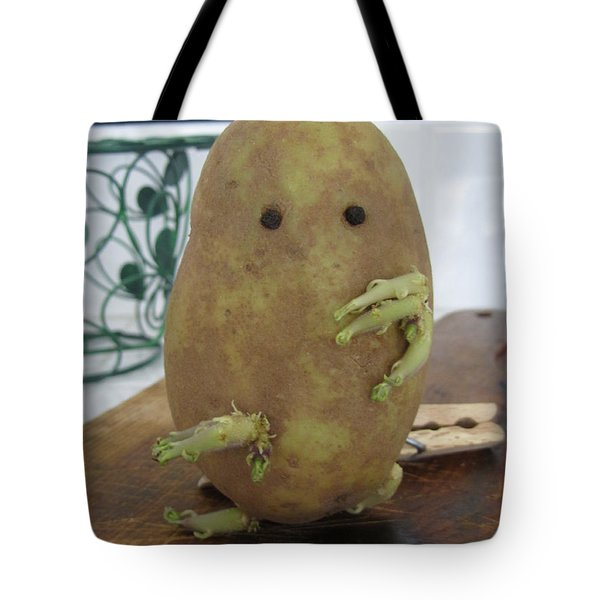Potato Man Tote Bag