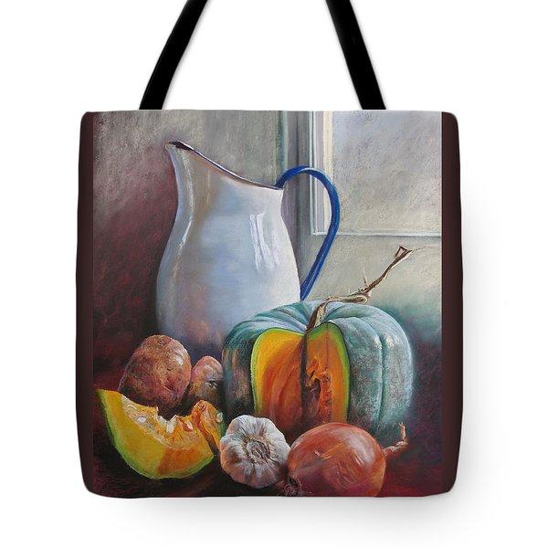 Potential Pumpkin Soup Tote Bag by Lynda Robinson