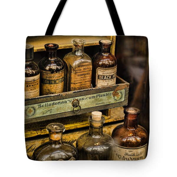 Potions And Cure Alls Tote Bag