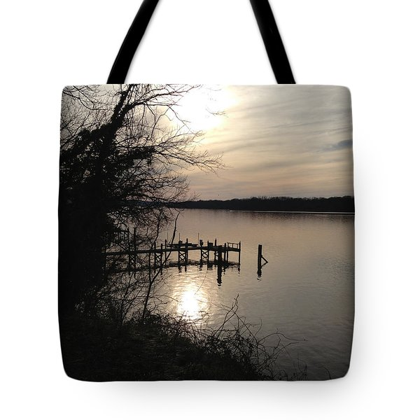 Potomac Reflective Tote Bag