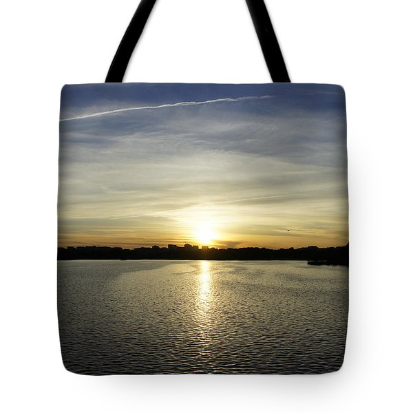 Potomac Sunset Tote Bag