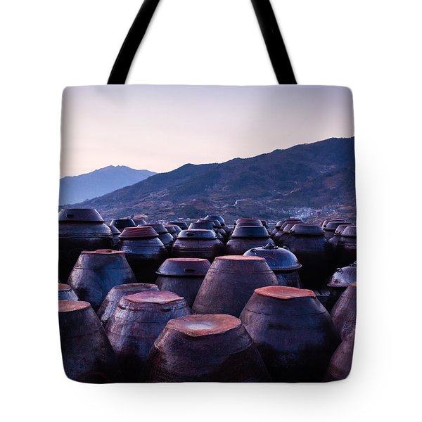 Pots Of Plum Tote Bag