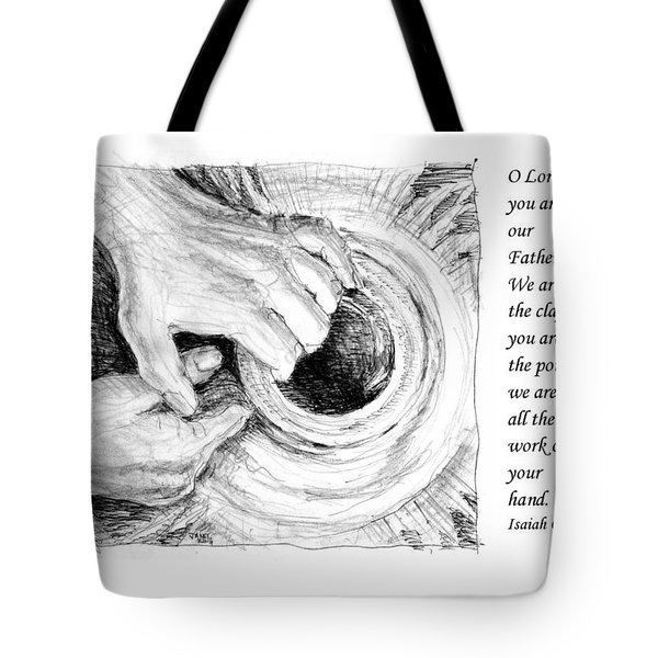 Potter And Clay Tote Bag