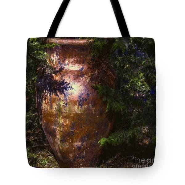 Tote Bag featuring the photograph Potters Clay by Jean OKeeffe Macro Abundance Art