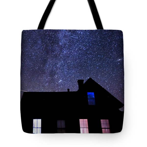 Pour In The Light Tote Bag by Cat Connor
