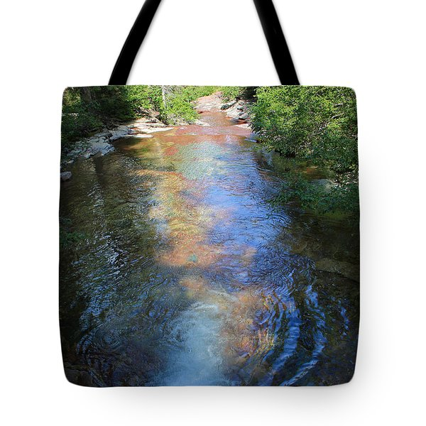 Pouring Into Morning Light Tote Bag