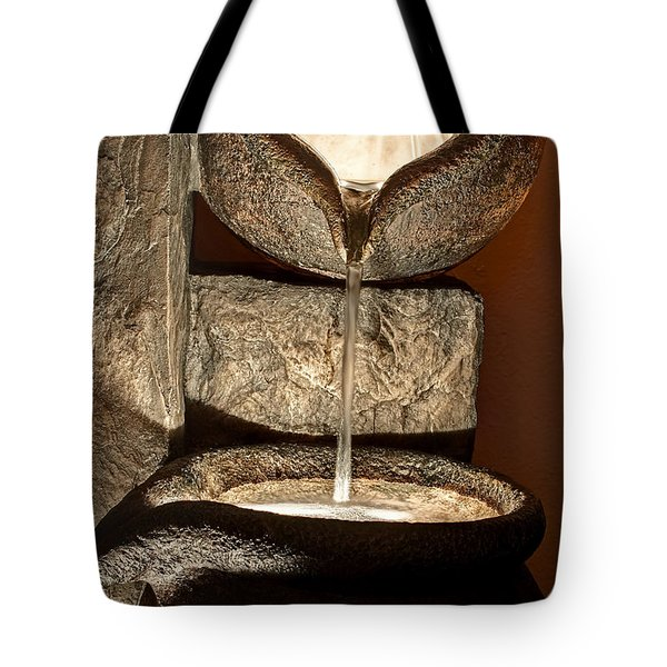 Pouring Out Water Art Prints Tote Bag