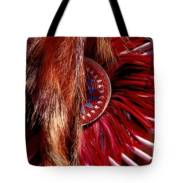 Pow-wow Costume Tote Bag by Paul W Faust -  Impressions of Light