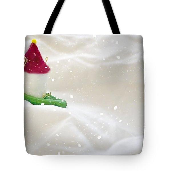 Powdered Sugar Tote Bag by Heather Applegate